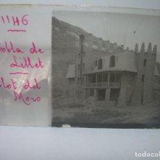 Fotografía antigua: CINCO CRISTALES ESTEREOSCOPICOS......LA POBLA DE LILLET......CIRCA 1.900. Lote 90347772