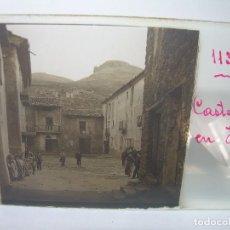 Fotografía antigua: TRES CRISTALES ESTEREOSCOPICOS.......CASTELLÀ DE NUCH.......CIRCA. 1.900. Lote 90348128