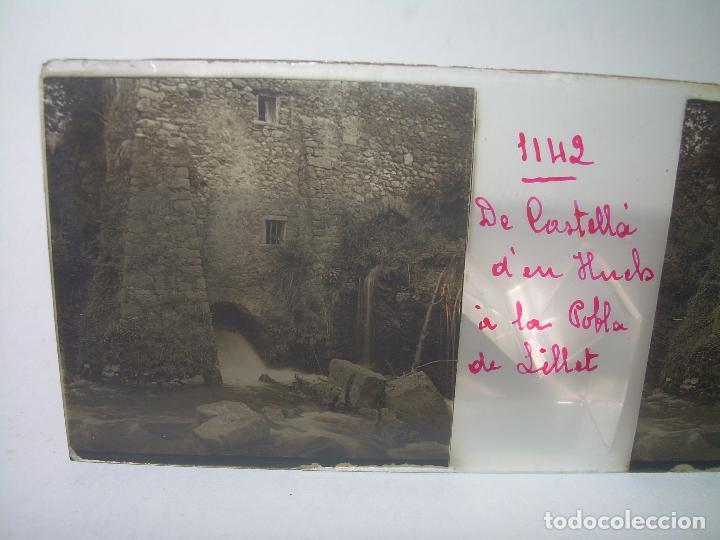 Fotografía antigua: TRES CRISTALES ESTEREOSCOPICOS.......CASTELLÀ DE NUCH.......CIRCA. 1.900 - Foto 3 - 90348128