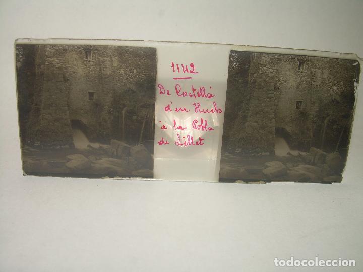 Fotografía antigua: TRES CRISTALES ESTEREOSCOPICOS.......CASTELLÀ DE NUCH.......CIRCA. 1.900 - Foto 4 - 90348128