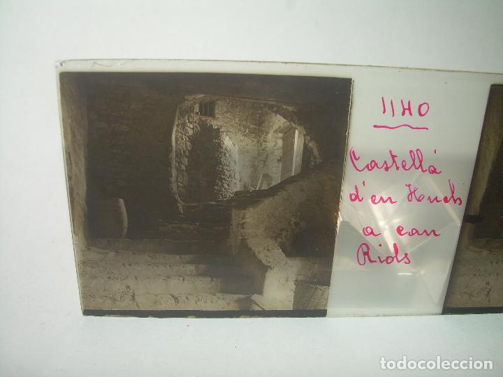Fotografía antigua: TRES CRISTALES ESTEREOSCOPICOS.......CASTELLÀ DE NUCH.......CIRCA. 1.900 - Foto 5 - 90348128