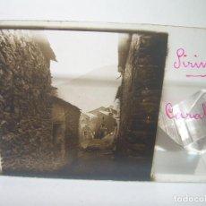 Fotografía antigua: DOS CRISTALES ESTEREOSCOPICOS.......CARALPS.......CIRCA. 1.900. Lote 90348252