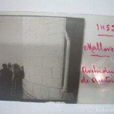 Fotografía antigua: CRISTAL ESTEREOSCOPICO.......MALLORCA - ARCHIDUQUE DE AUSTRIA.......CIRCA. 1.900. Lote 90537655