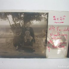 Fotografía antigua: CINCO CRISTALES ESTEREOSCOPICOS.....SANTA FE DEL MONTSENY...PERSONAJES DE EPOCA....CIRCA 1.900. Lote 90566120