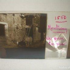 Fotografía antigua: TRES CRISTALES ESTEREOSCOPICOS.......MONTSENY... CAN CERVERA.......CIRCA. 1.900. Lote 90740975