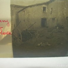Fotografía antigua: CRISTAL ESTEREOSCOPICO.......MONTSENY...MASIA PLA DE SOMA......CIRCA. 1.900. Lote 90742110
