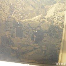Fotografía antigua: DOS CRISTALES ESTEREOSCOPICOS.......FIGARÒ.......CIRCA. 1.900. Lote 90820875