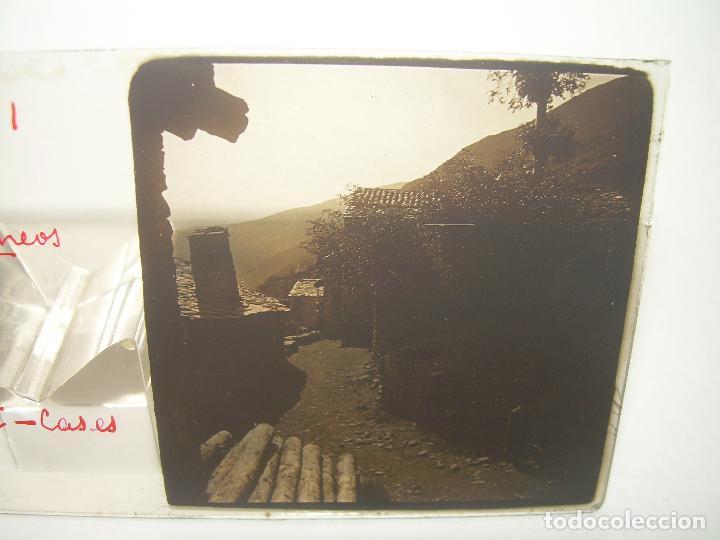 Fotografía antigua: TRES CRISTALES ESTEREOSCOPICOS.......SETCASES...RIPOLLES...VALLTER 2000....CIRCA. 1.900 - Foto 3 - 90835375