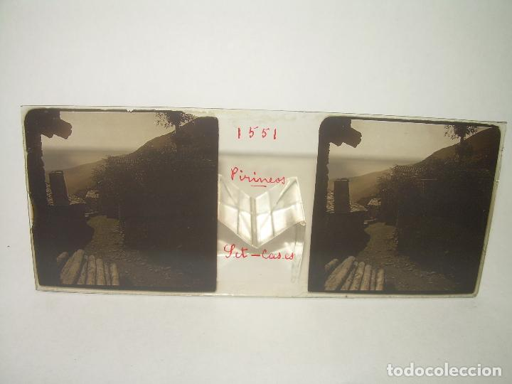 Fotografía antigua: TRES CRISTALES ESTEREOSCOPICOS.......SETCASES...RIPOLLES...VALLTER 2000....CIRCA. 1.900 - Foto 4 - 90835375