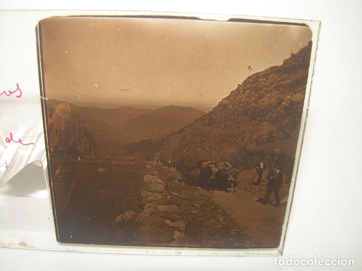 Fotografía antigua: TRES CRISTALES ESTEREOSCOPICOS.......SETCASES...RIPOLLES...VALLTER 2000....CIRCA. 1.900 - Foto 5 - 90835375