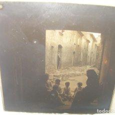 Fotografía antigua: CRISTAL ESTEREOSCOPICO.......VILADRAU.......CIRCA. 1.900. Lote 90848355