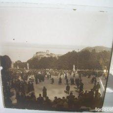 Fotografía antigua: TRES CRISTALES ESTEREOSCOPICOS.......LOURDES.......CIRCA. 1.900. Lote 90852065
