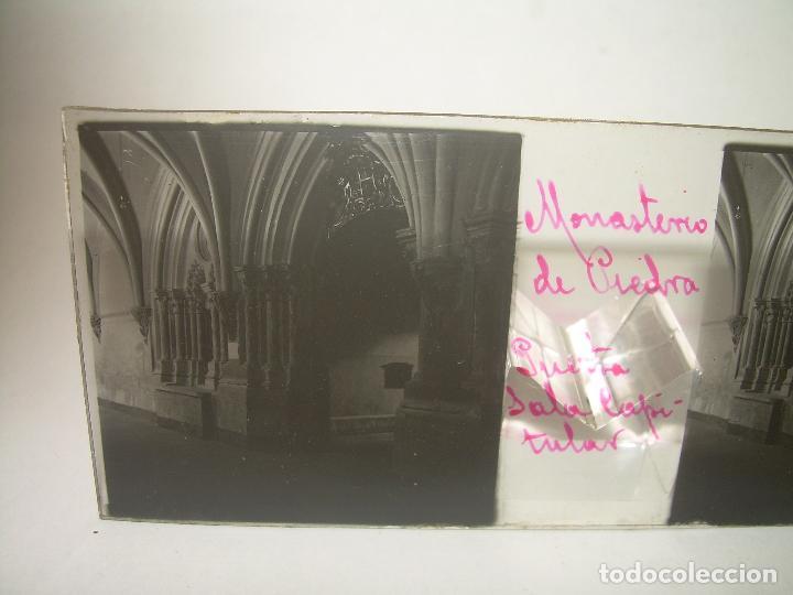 Fotografía antigua: CAJETIN CON 25 CRISTALES DEL MONASTERIO DE PIEDRA....CIRCA...1.900 - Foto 5 - 92078880