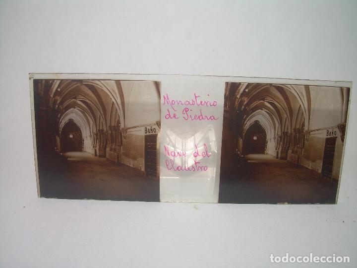 Fotografía antigua: CAJETIN CON 25 CRISTALES DEL MONASTERIO DE PIEDRA....CIRCA...1.900 - Foto 7 - 92078880