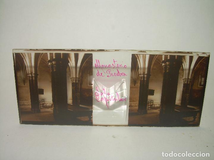 Fotografía antigua: CAJETIN CON 25 CRISTALES DEL MONASTERIO DE PIEDRA....CIRCA...1.900 - Foto 11 - 92078880