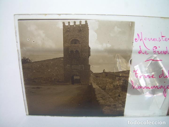 Fotografía antigua: CAJETIN CON 25 CRISTALES DEL MONASTERIO DE PIEDRA....CIRCA...1.900 - Foto 16 - 92078880