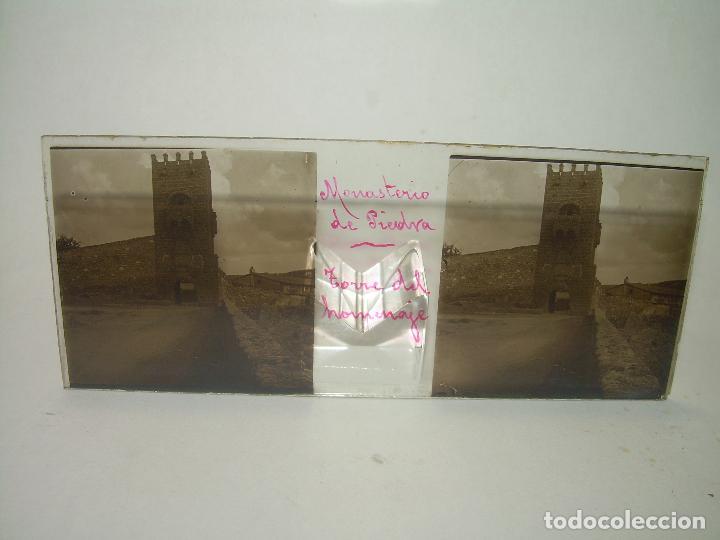 Fotografía antigua: CAJETIN CON 25 CRISTALES DEL MONASTERIO DE PIEDRA....CIRCA...1.900 - Foto 17 - 92078880