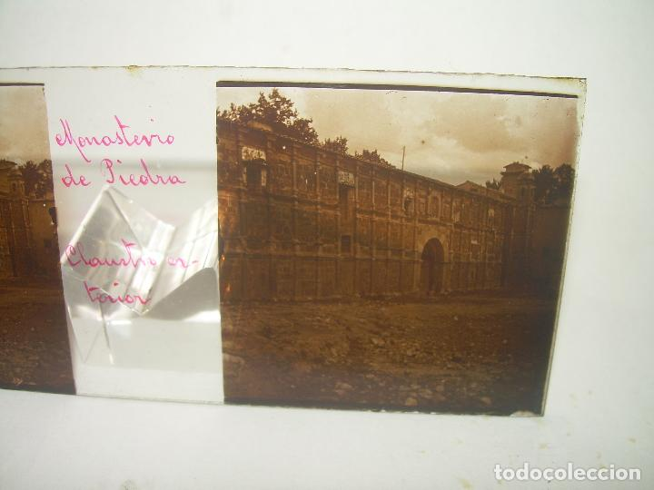 Fotografía antigua: CAJETIN CON 25 CRISTALES DEL MONASTERIO DE PIEDRA....CIRCA...1.900 - Foto 18 - 92078880