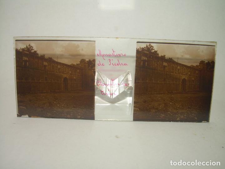 Fotografía antigua: CAJETIN CON 25 CRISTALES DEL MONASTERIO DE PIEDRA....CIRCA...1.900 - Foto 19 - 92078880