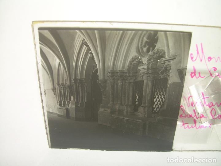 Fotografía antigua: CAJETIN CON 25 CRISTALES DEL MONASTERIO DE PIEDRA....CIRCA...1.900 - Foto 21 - 92078880