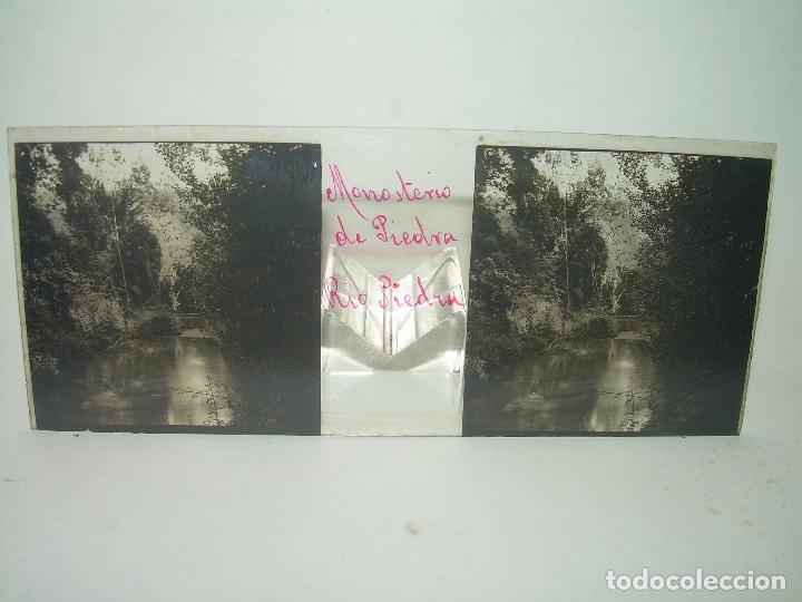 Fotografía antigua: CAJETIN CON 25 CRISTALES DEL MONASTERIO DE PIEDRA....CIRCA...1.900 - Foto 24 - 92078880