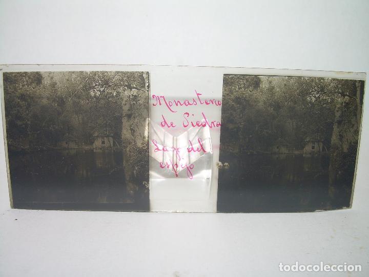 Fotografía antigua: CAJETIN CON 25 CRISTALES DEL MONASTERIO DE PIEDRA....CIRCA...1.900 - Foto 28 - 92078880