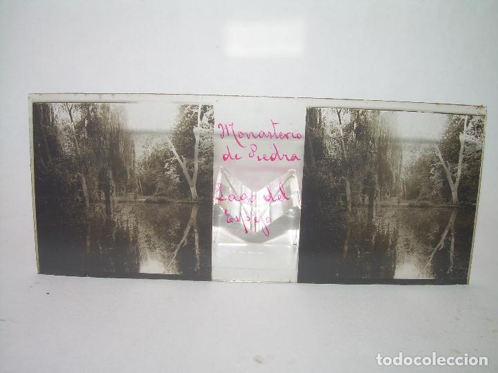 Fotografía antigua: CAJETIN CON 25 CRISTALES DEL MONASTERIO DE PIEDRA....CIRCA...1.900 - Foto 30 - 92078880
