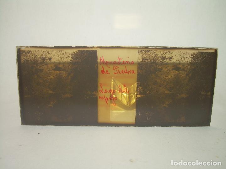 Fotografía antigua: CAJETIN CON 25 CRISTALES DEL MONASTERIO DE PIEDRA....CIRCA...1.900 - Foto 31 - 92078880