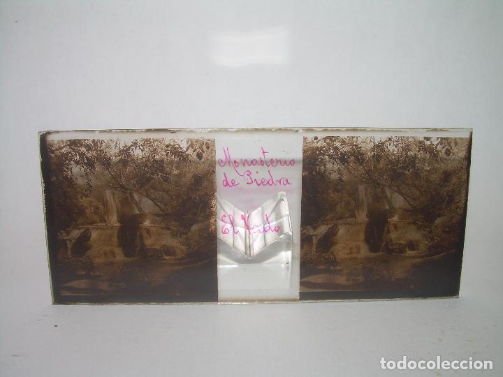 Fotografía antigua: CAJETIN CON 25 CRISTALES DEL MONASTERIO DE PIEDRA....CIRCA...1.900 - Foto 33 - 92078880