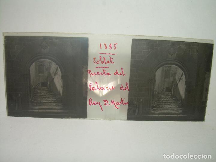 Fotografía antigua: CAJETIN 25 CRISTALES ESTEREOSCOPICOS...MONASTERIO POBLET EN RUINAS..ANTES DE SER RECONSTRUIDO CA1910 - Foto 6 - 92342180