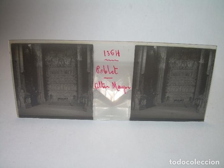 Fotografía antigua: CAJETIN 25 CRISTALES ESTEREOSCOPICOS...MONASTERIO POBLET EN RUINAS..ANTES DE SER RECONSTRUIDO CA1910 - Foto 8 - 92342180