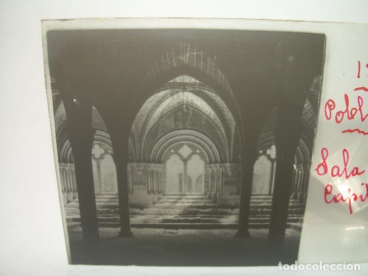 Fotografía antigua: CAJETIN 25 CRISTALES ESTEREOSCOPICOS...MONASTERIO POBLET EN RUINAS..ANTES DE SER RECONSTRUIDO CA1910 - Foto 13 - 92342180