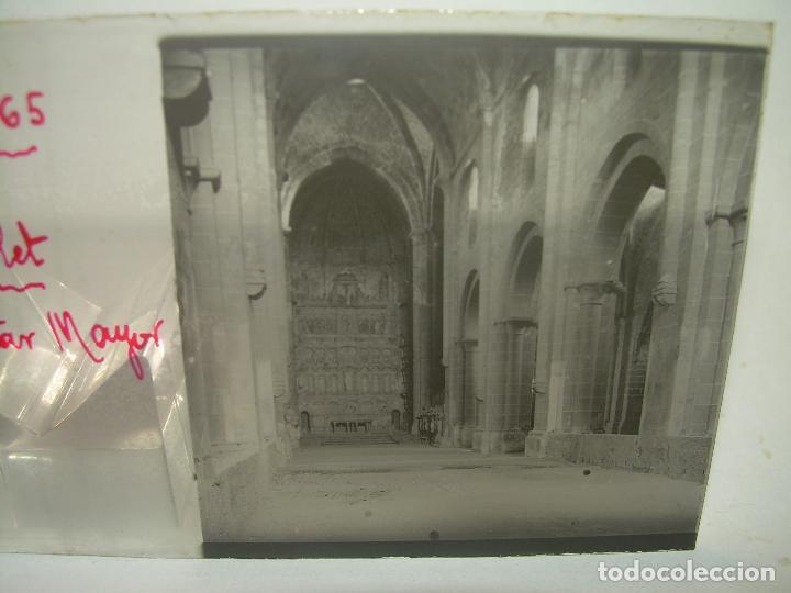Fotografía antigua: CAJETIN 25 CRISTALES ESTEREOSCOPICOS...MONASTERIO POBLET EN RUINAS..ANTES DE SER RECONSTRUIDO CA1910 - Foto 17 - 92342180