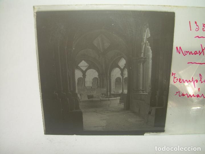 Fotografía antigua: CAJETIN 25 CRISTALES ESTEREOSCOPICOS...MONASTERIO POBLET EN RUINAS..ANTES DE SER RECONSTRUIDO CA1910 - Foto 25 - 92342180