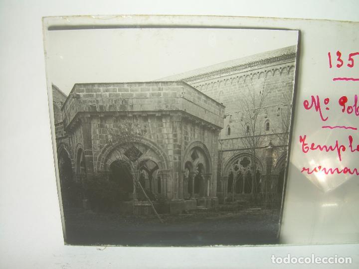 Fotografía antigua: CAJETIN 25 CRISTALES ESTEREOSCOPICOS...MONASTERIO POBLET EN RUINAS..ANTES DE SER RECONSTRUIDO CA1910 - Foto 29 - 92342180