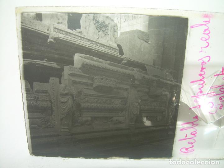 Fotografía antigua: CAJETIN 25 CRISTALES ESTEREOSCOPICOS...MONASTERIO POBLET EN RUINAS..ANTES DE SER RECONSTRUIDO CA1910 - Foto 31 - 92342180