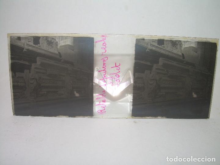 Fotografía antigua: CAJETIN 25 CRISTALES ESTEREOSCOPICOS...MONASTERIO POBLET EN RUINAS..ANTES DE SER RECONSTRUIDO CA1910 - Foto 32 - 92342180