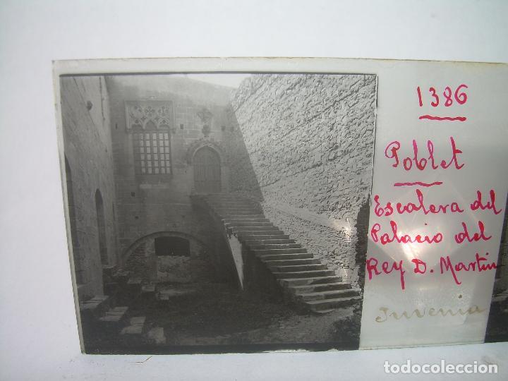 Fotografía antigua: CAJETIN 25 CRISTALES ESTEREOSCOPICOS...MONASTERIO POBLET EN RUINAS..ANTES DE SER RECONSTRUIDO CA1910 - Foto 33 - 92342180