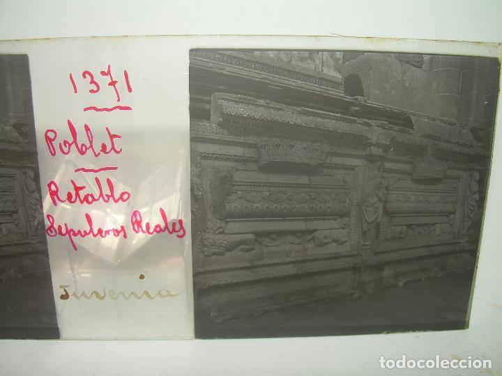 Fotografía antigua: CAJETIN 25 CRISTALES ESTEREOSCOPICOS...MONASTERIO POBLET EN RUINAS..ANTES DE SER RECONSTRUIDO CA1910 - Foto 37 - 92342180