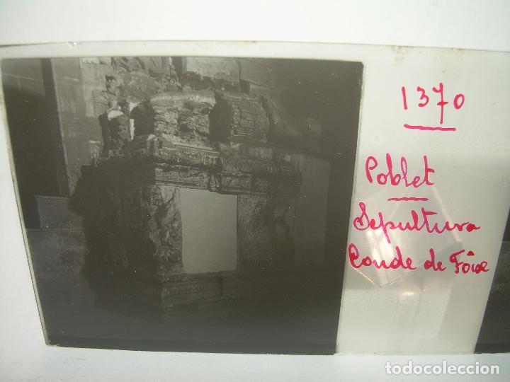 Fotografía antigua: CAJETIN 25 CRISTALES ESTEREOSCOPICOS...MONASTERIO POBLET EN RUINAS..ANTES DE SER RECONSTRUIDO CA1910 - Foto 38 - 92342180
