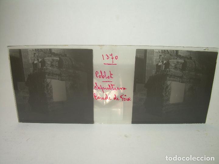 Fotografía antigua: CAJETIN 25 CRISTALES ESTEREOSCOPICOS...MONASTERIO POBLET EN RUINAS..ANTES DE SER RECONSTRUIDO CA1910 - Foto 39 - 92342180