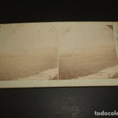 Fotografía antigua: EL ESCORIAL MADRID VISTA DEL MONASTERIO ESTEREOSCOPICA 1906 POR VIAJERO FRANCES. Lote 92721120