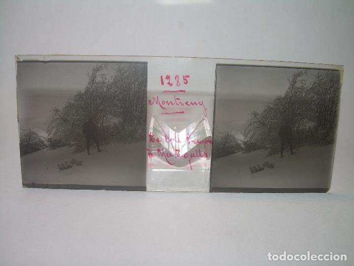 Fotografía antigua: CAJETIN 25 CRISTALES ESTEREOSCOPICOS.....MONTSENY......CIRCA.1.900 - Foto 2 - 92769865