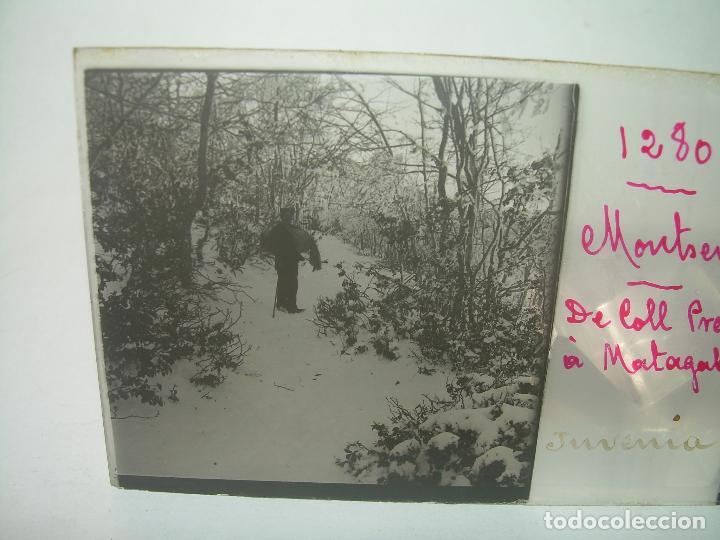 Fotografía antigua: CAJETIN 25 CRISTALES ESTEREOSCOPICOS.....MONTSENY......CIRCA.1.900 - Foto 3 - 92769865