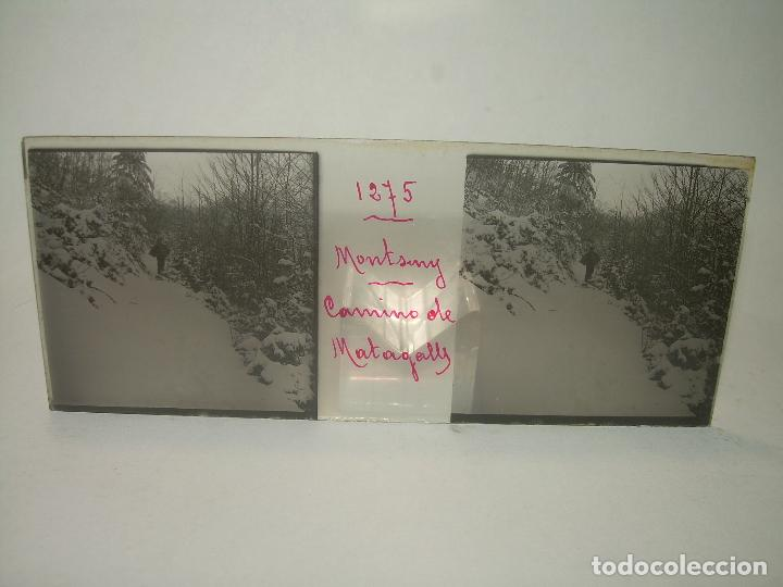 Fotografía antigua: CAJETIN 25 CRISTALES ESTEREOSCOPICOS.....MONTSENY......CIRCA.1.900 - Foto 10 - 92769865
