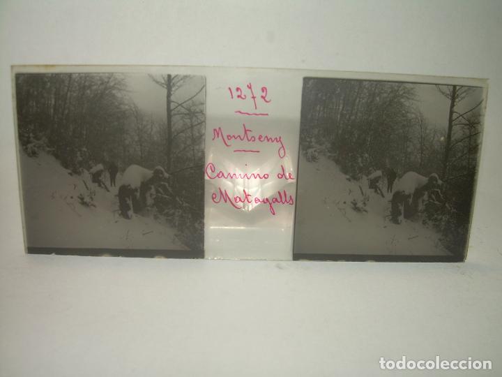 Fotografía antigua: CAJETIN 25 CRISTALES ESTEREOSCOPICOS.....MONTSENY......CIRCA.1.900 - Foto 12 - 92769865
