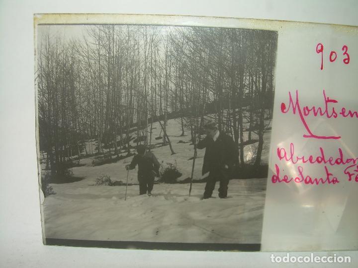 Fotografía antigua: CAJETIN 25 CRISTALES ESTEREOSCOPICOS.....MONTSENY......CIRCA.1.900 - Foto 13 - 92769865