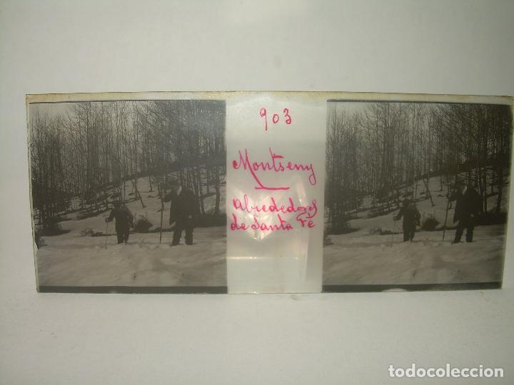 Fotografía antigua: CAJETIN 25 CRISTALES ESTEREOSCOPICOS.....MONTSENY......CIRCA.1.900 - Foto 14 - 92769865