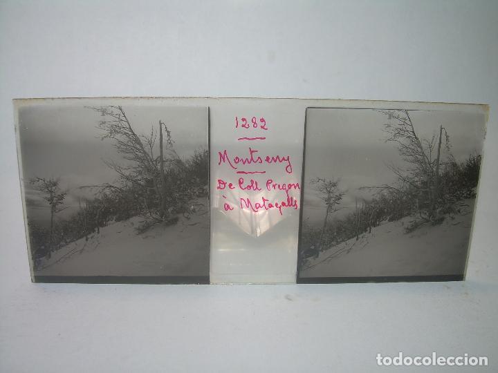Fotografía antigua: CAJETIN 25 CRISTALES ESTEREOSCOPICOS.....MONTSENY......CIRCA.1.900 - Foto 15 - 92769865