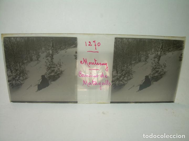 Fotografía antigua: CAJETIN 25 CRISTALES ESTEREOSCOPICOS.....MONTSENY......CIRCA.1.900 - Foto 17 - 92769865
